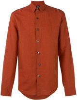 Theory Rammy shirt - men - Cotton/Linen/Flax - S