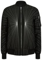 Rick Owens Embroidered Explosion Bomber Jacket