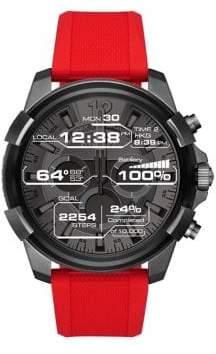 Diesel Full Guard Gunmetal-Tone Touchscreen Smartwatch