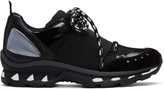 Givenchy Black Hybrid Trainer Sneakers