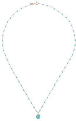 Gigi Clozeau 18kt Rose Gold Diamond Necklace