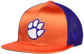 Top of the World Women's Clemson Tigers Big Faux-Satin Snapback Cap