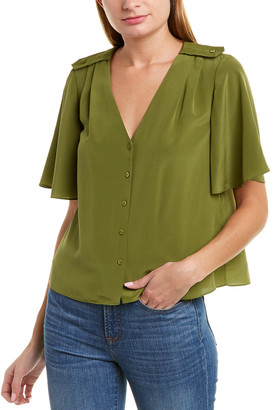 Joie Cadell Silk Top