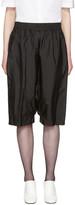 Jil Sander Black Dropped Shorts