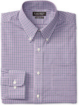 Lauren Ralph Lauren Men's Slim-Fit Stretch Purple Check Dress Shirt