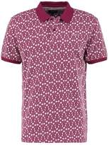 Huf Escher Polo Shirt Burgundy