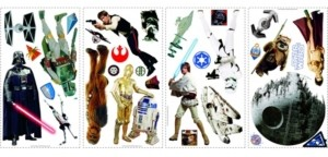 York Wall Coverings York Wallcoverings Star Wars Classic Peel and Stick Wall Decals