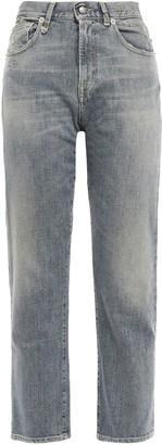 R 13 Corey Cropped High-rise Slim-leg Jeans