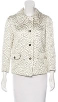 Dolce & Gabbana Quilted Metallic Jacket