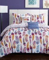 Idea Nuova IdeaNuova Watercolor Olivia Feather 4-Pc. Twin/Twin XL Comforter Set