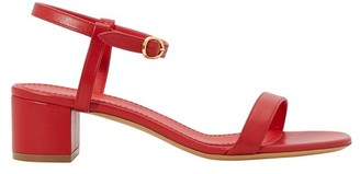 Mansur Gavriel Lambskin leather sandals