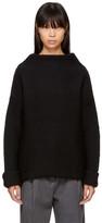 YMC Black Wool Turtleneck