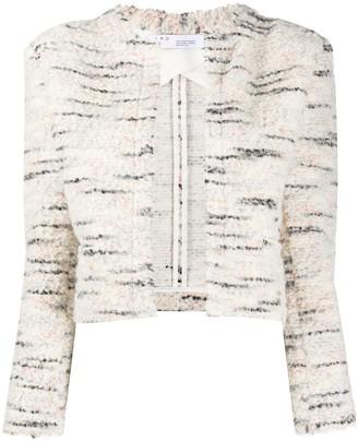 IRO Cropped Knit Jacket