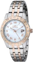Invicta Women's 17490 Angel Analog Display Japanese Quartz Two Tone Watch