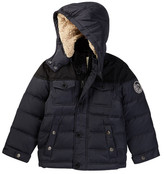 Diesel Faux Shearling Lined Down Bubble Jacket (Little Boys)
