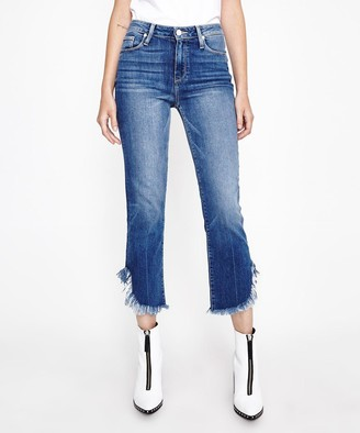 Paige Hoxton Straight Jeans Norfolk Blue