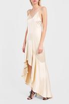 Jonathan Simkhai Silk Ruffled Gown