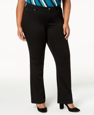 INC International Concepts Inc Plus Size Bootcut Jeans, Created for Macy's