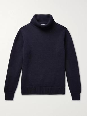 Connolly - Goodwood Merino Wool Rollneck Sweater - Men - Blue