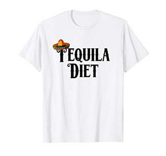 IDEA Tequila Diet T-Shirt Funny Drinking Drunk Gift