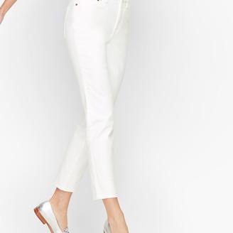 Talbots Modern Ankle Jeans - White