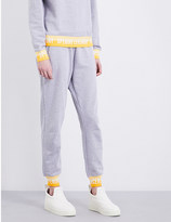 Opening Ceremony Branded-trim cotton-blend jogging bottoms