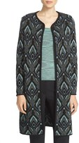 M Missoni Women's Metallic Jacquard Topper