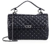 Valentino Rockstud Spike Large Quilted Leather Chain Shoulder Bag