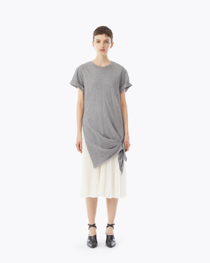 3.1 Phillip Lim Side Tie Dress with Pleating