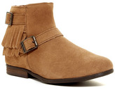 Minnetonka Rancho Buckle Fringe Boot (Women)