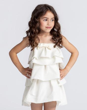 Lanvin Flounced Dress