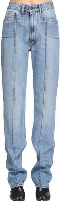 Maison Margiela Front Stitch Cotton Denim Jeans