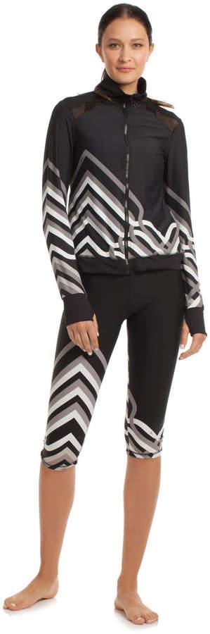 Trina Turk Lattice Wrap Jacket