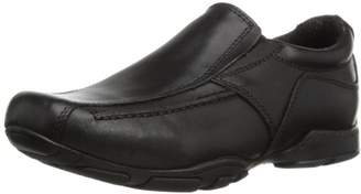 Hush Puppies Boys' Bespoke Junior Loafers, Black (Black), 33 EU