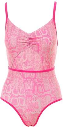 adidas by Stella McCartney Printed Swimsuit