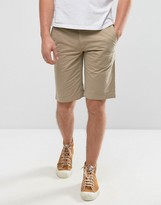 BOSS ORANGE by Hugo Boss Chino Shorts Regular Fit in Beige