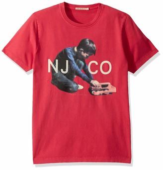 Nudie Jeans Unisex-Adult's Roy Logo Boy M
