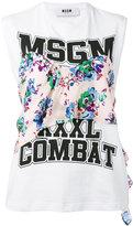 MSGM printed tank top