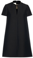 Valentino Wool And Silk Dress With Pendant