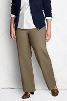Classic Women's Plus Size Petite Pre-hemmed Fit 3 7-Day Trousers-True Navy