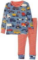 Hatley Rush Hour Long Sleeve Mini Pajama Set Boy's Pajama Sets