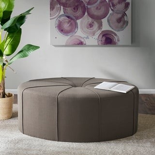 Madison Home USA Aberdeen Oval Ottoman