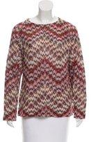 Missoni Mélange Scoop Neck Sweater