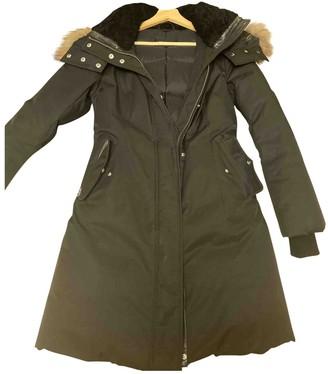 Mackage Black Shearling Coat for Women