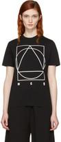 McQ Black Logo Glyph Icon T-shirt