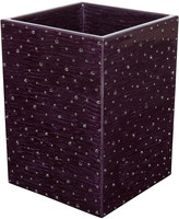 Mike and Ally Mike + Ally - Stardust Mini Waste Bin - Amethyst & Black Diamond