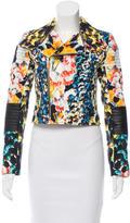Nicholas Floral Moto Jacket