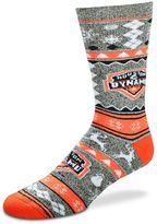 For Bare Feet Men's Houston Dynamo Holiday Crew Socks