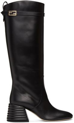 Fendi Black Promenade Tall Boots