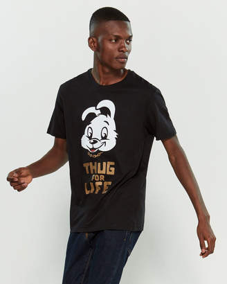Eleven Paris Life Is A Joke By Thug Life Short Sleeve Graphic Print Tee